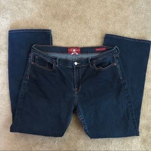 Luck brand sweet & low jeans size 16/33 bootcut